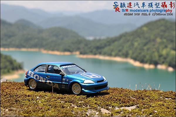 Honda civic EK9 by Johnny Lightning 002.JPG