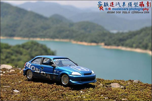 Honda civic EK9 by Johnny Lightning 013.JPG