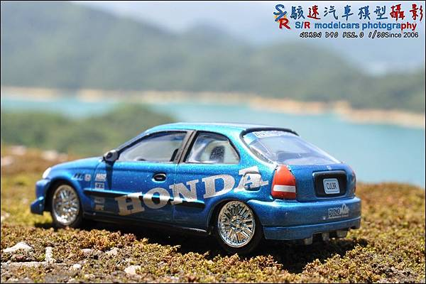 Honda civic EK9 by Johnny Lightning 014.JPG