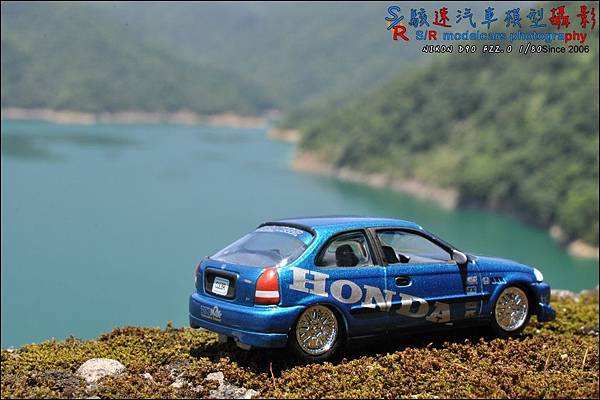 Honda civic EK9 by Johnny Lightning 017.JPG