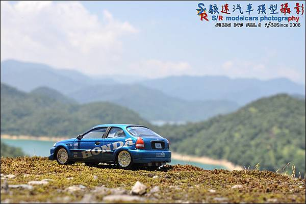 Honda civic EK9 by Johnny Lightning 019.JPG
