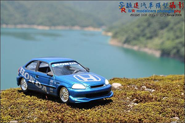 Honda civic EK9 by Johnny Lightning 018.JPG