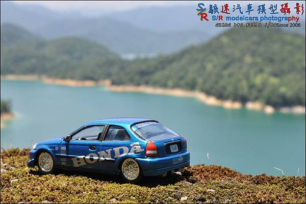 Honda civic EK9 by Johnny Lightning 022.JPG