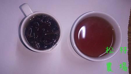 烏龍紅茶茶湯