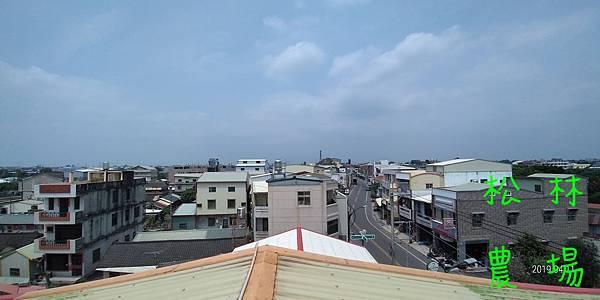 P_20190411田尾家樓上屋頂的景致