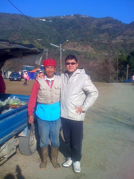 陳漢棟先生與國賓合影