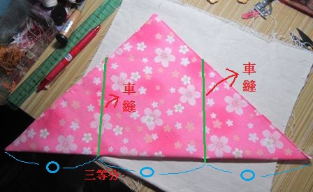 日式束口袋作法4