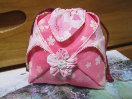 櫻花束口袋(小)2