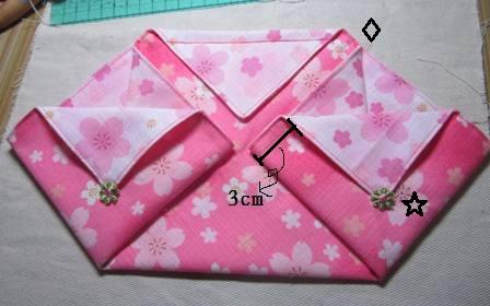 日式束口袋作法8