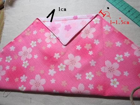 日式束口袋作法5