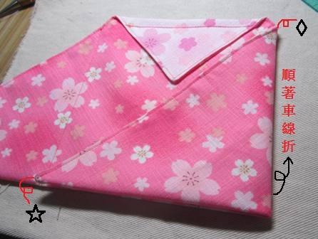 日式束口袋作法6
