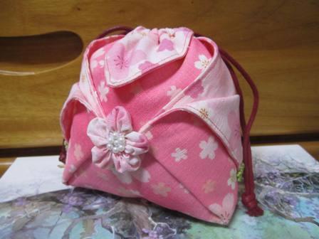 櫻花束口袋(小)