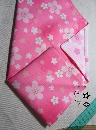 日式束口袋作法7