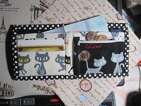 灰貓短夾3