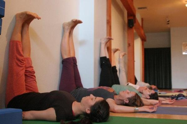 瑜珈瘦腿1