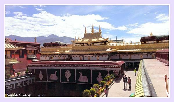 西藏。在天邊!《裊裊桑煙,大昭寺祈福的開始!》