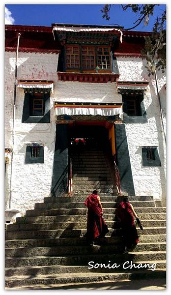 《奔跑在西藏最大寺廟 –哲蚌寺!》15