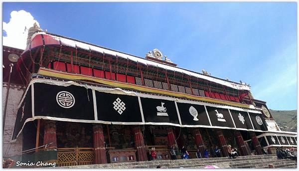 《奔跑在西藏最大寺廟 –哲蚌寺!》33