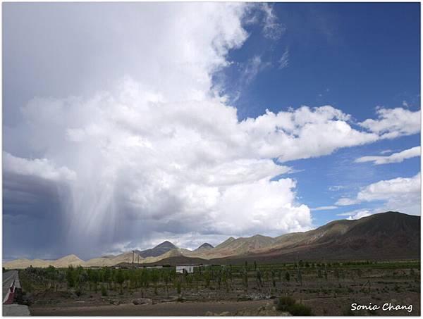 《魔幻天雨 –回日喀則的路上!》26