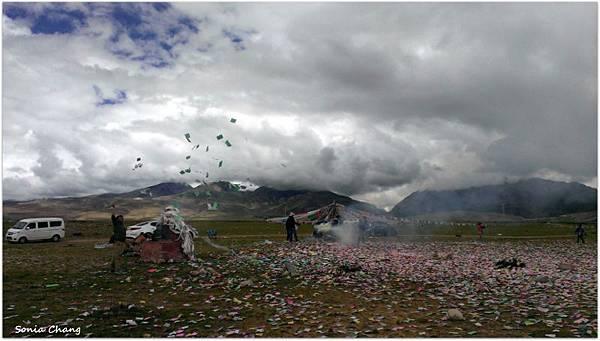 西藏。在天邊!《好福氣–世界神山日.慶德鄉望果節!》33