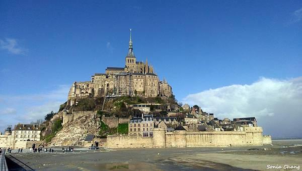 《金字塔山形的完美奇蹟﹣聖米歇爾山!法國.Mont ST Michel》02