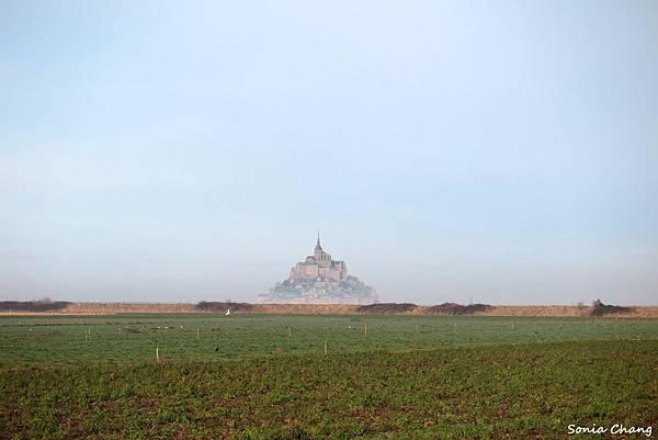 《金字塔山形的完美奇蹟﹣聖米歇爾山!法國.Mont ST Michel》