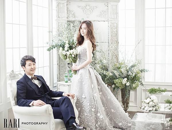 尹尚賢與Maybee婚紗照