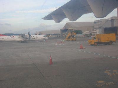從位置上拍機場