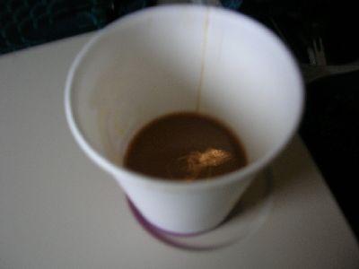 飛機上難喝的咖啡