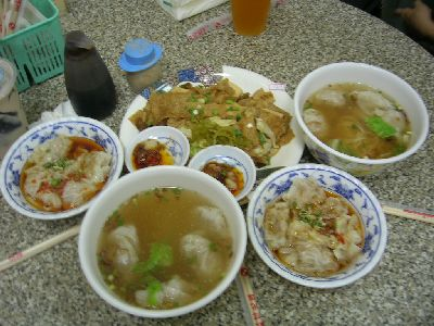 澎湖的第一餐