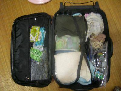 出發前整好的行李