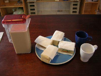 第一個早餐