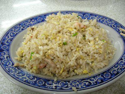 晚餐-鮮蝦炒飯