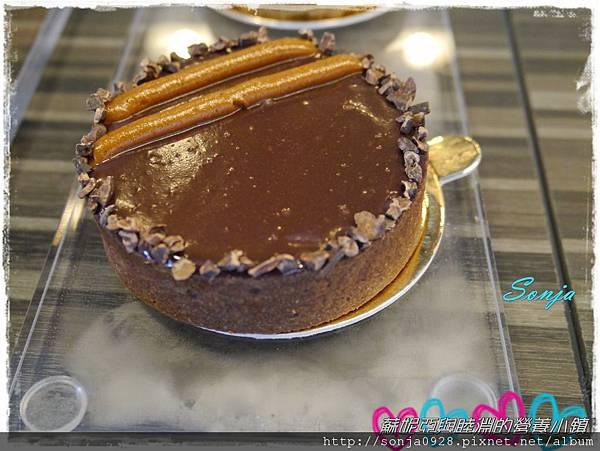 巧克力焦糖塔2