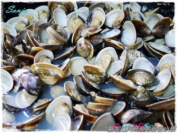 青醬蛤蜊義大利麵8