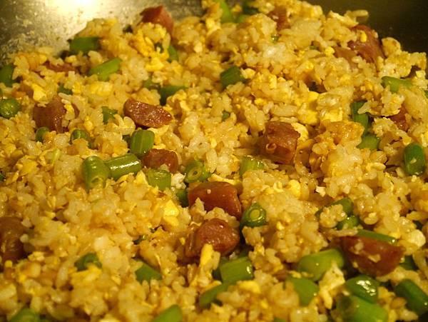 香腸炒飯9