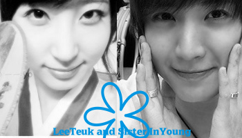 Lee Teuk and sister