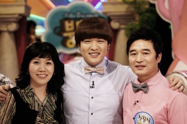 Shin Dong and parents