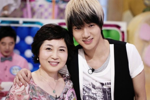 Ye Sung and mother