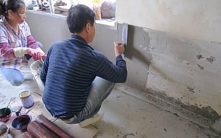 石灰牆整修-04