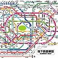 東京地下鐵路線圖