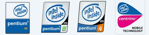 PENTIUM M (奔騰系列)處理器標誌