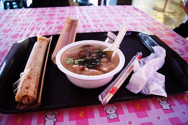 竹筒飯和肉羹湯