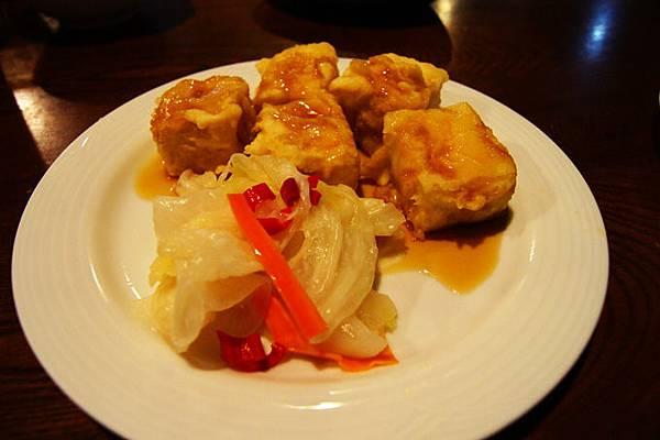 酥炸金黃豆腐