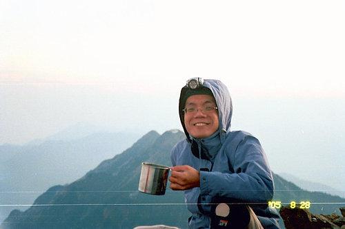 喝杯咖啡怯寒