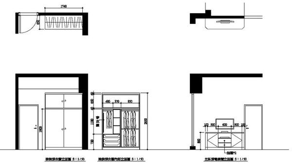 珈房間衣櫃和主臥電視櫃立面圖.jpg