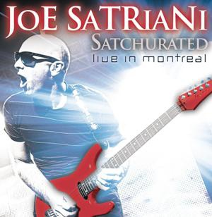 Joe Satriani-Satchurated Live In Montreal