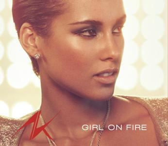 Alicia Keys-Girl on Fire (single)