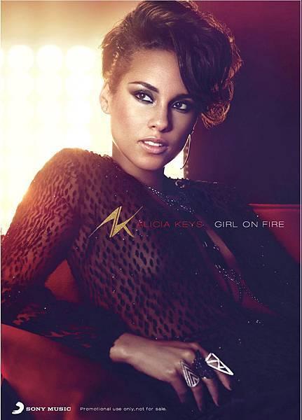 Alicia Keys21x29.5海報 完稿