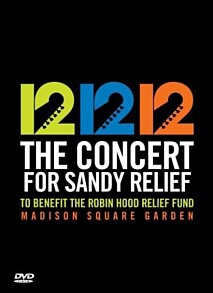 12.12.12 The Concert for Sandy Relief DVD